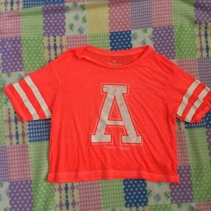 American Eagle Outfitters Varsity Crop Top Size XS